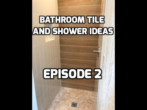 Bath & Shower Tile Ideas EPISODE 2 Wood Look Accent Wall