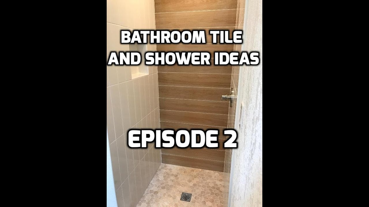 Bath Shower Tile Ideas Episode 2 Wood Look Accent Wall Youtube