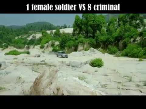 1 female SPY Japanese soldier vs 8 criminals-CHINA DAILY