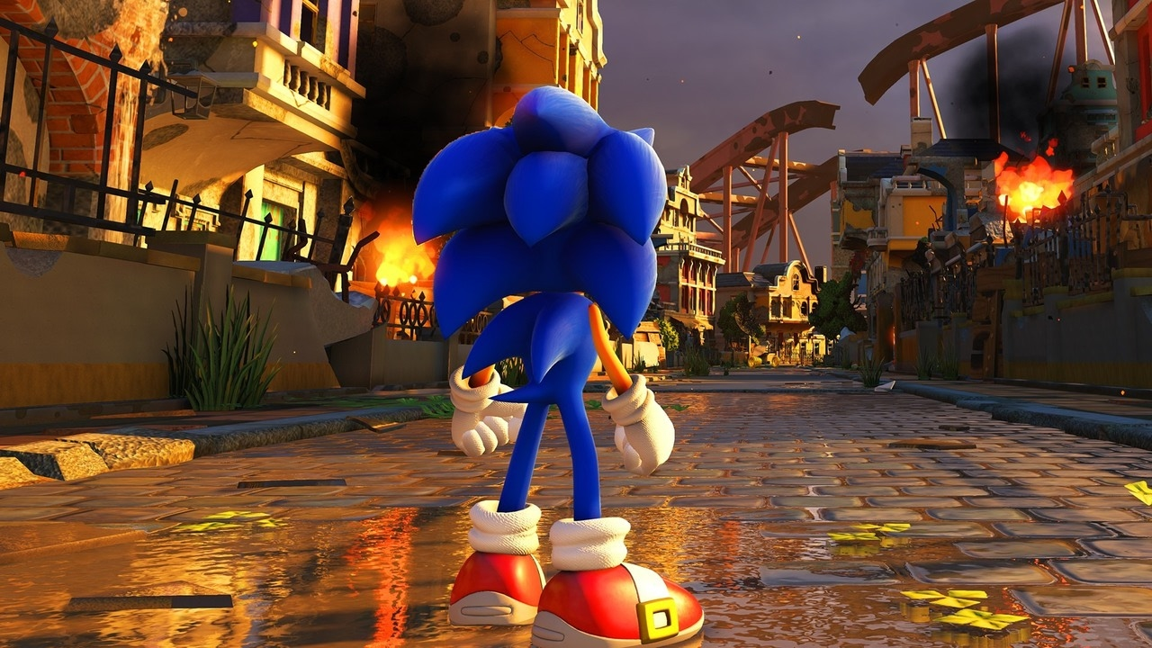 sonic forces gameplay reveal trailer youtube. Black Bedroom Furniture Sets. Home Design Ideas