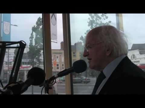 Ryan Tubridy interviews Michael D Higgins