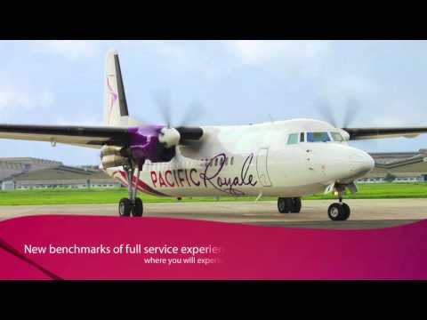 Pacific Royale Airways - Fokker F50s with refreshingly fresh livery