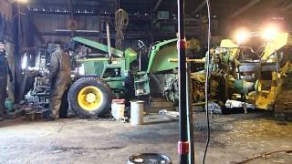 6200 John Deere Rear Removal