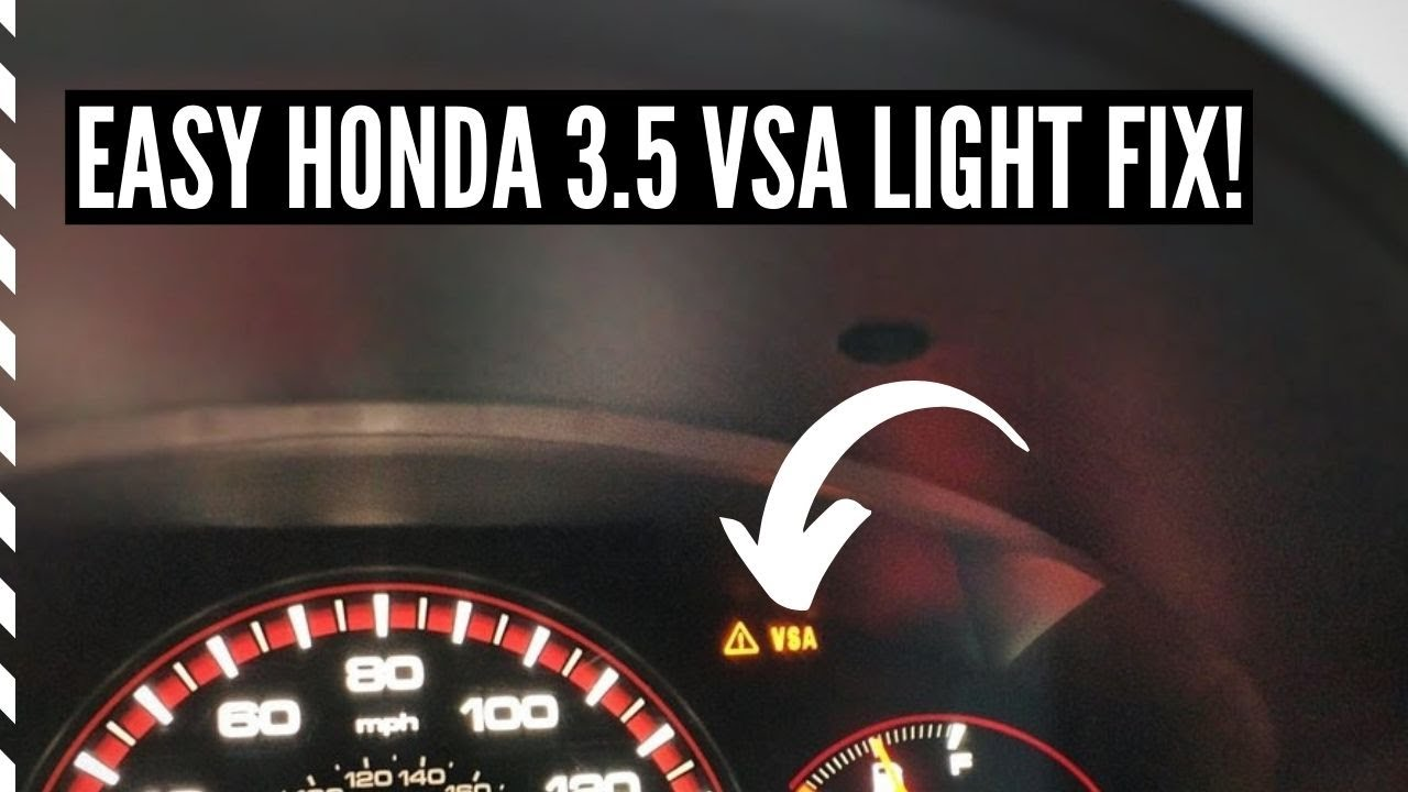 Easy Fix Engine Shake 2005 2010 Honda Odyssey Vsa Light P2626 And P2647 Code Youtube
