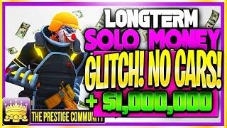 WE FOUND A WORKING SOLO MONEY GLITCH! *NO CARS*.... (GTA 5 Online Solo Money Glitch 1.44/1.45)