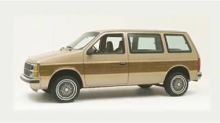 1984 plymouth voyager - the first chrysler minivan