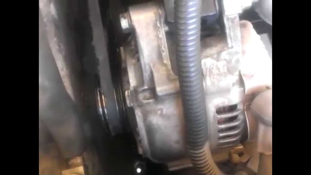 Geo Prizm Serpentine Belt Replacement