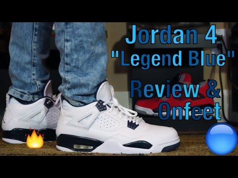 Jordan 4 Columbia/Legend Blue Review+Onfeet 2015