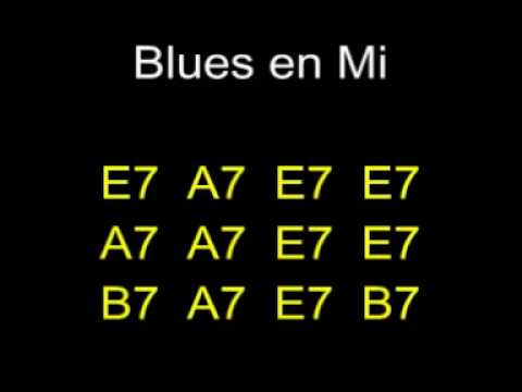 Blues en Mi (blues in E) Playback