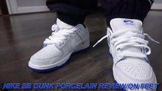 Nike SB DUNK PORCELAIN REVIEW/ON FEET