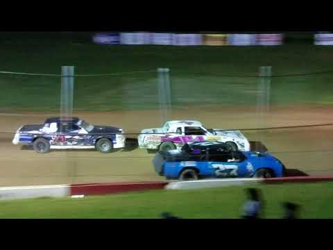 Monett Speedway Pure Stock Feature Part 2 8/25/17