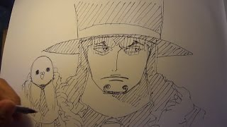 Drawing Lucci (One Piece)