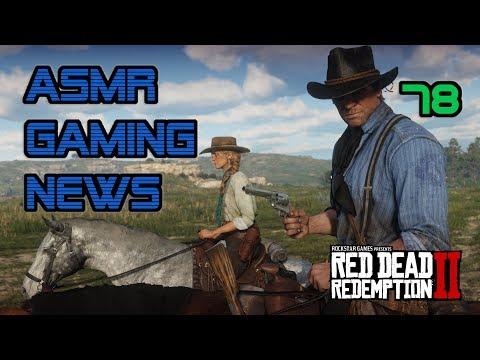 ASMR Gaming News (78) Red Dead Redemption 2, Anthem, Overwatch, Fortnite Paragon, Nintendo Switch +