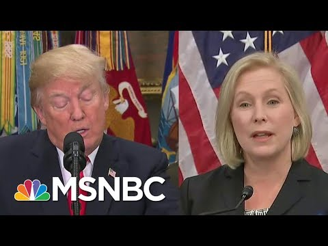 Mika On Trump's Tweet About Gillibrand: The President Should Have Apologized | Morning Joe | MSNBC