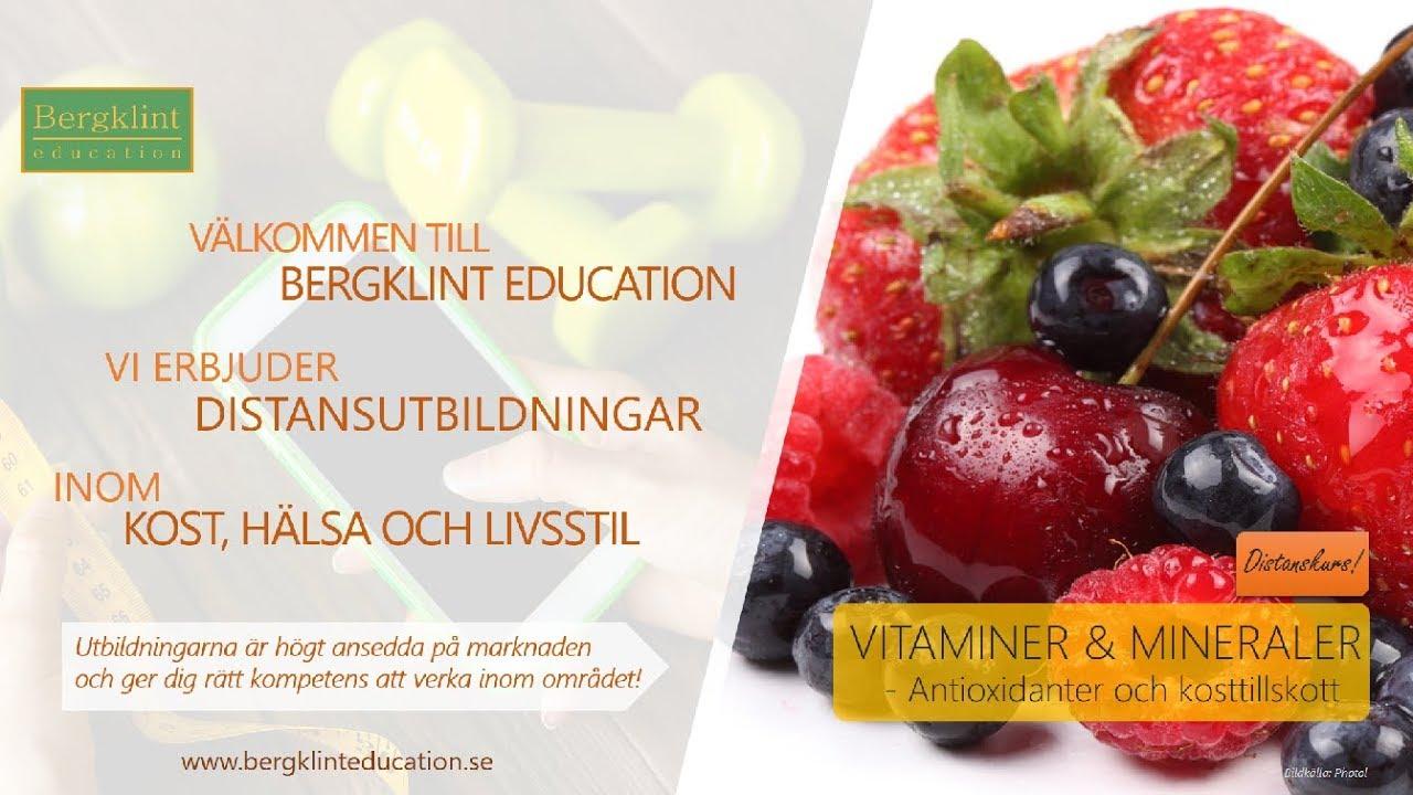 antioxidanter tillskott