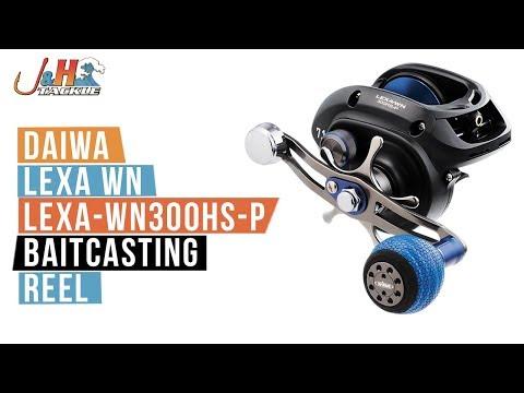 Daiwa Lexa WN LEXA-WN300HS-P Baitcasting Reel | J&H Tackle