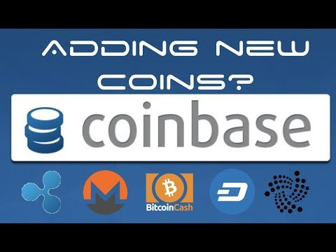 Coinbase to Add New Coins - IOTA, Ripple, Bitcoin Cash, Monero, DASH?