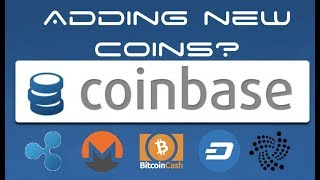 Coinbase to Add New Coins - IOTA, Ripple, Bitcoin Cash, Monero, DASH?