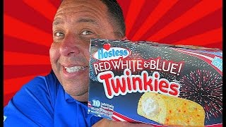 Hostess® Red, White & Blue Twinkies REVIEW!