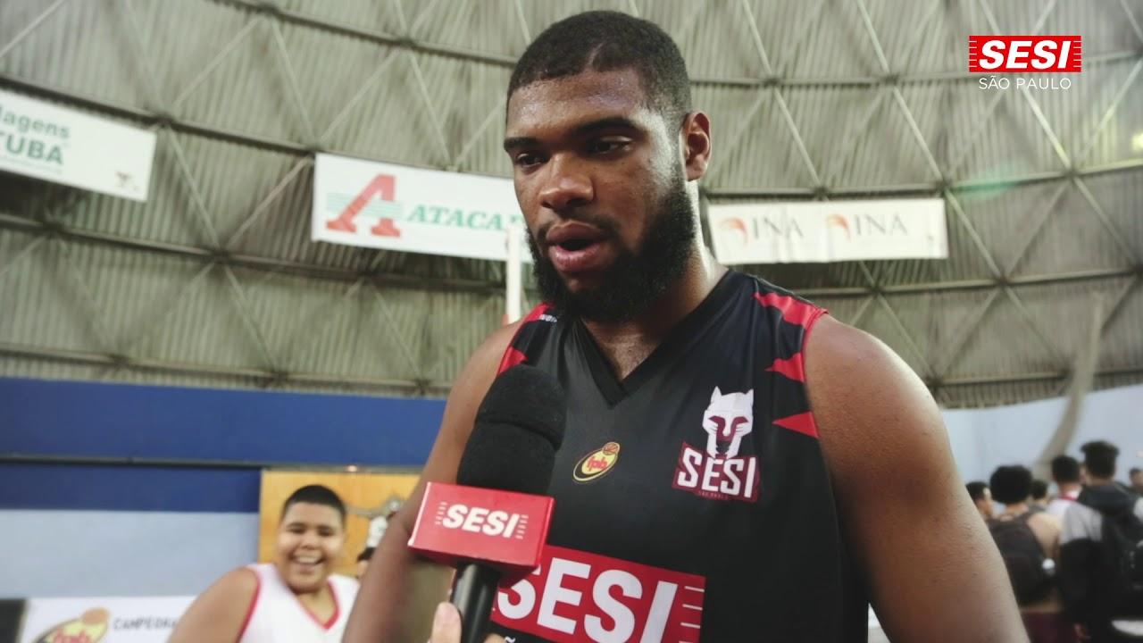 Adriano Alves Júnior Atleta Do Sesi Franca Basquete