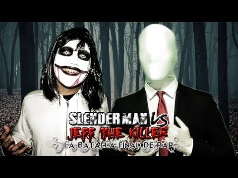 Slenderman VS Jeff the Killer. Batalla de Rap (Especial Halloween) | Keyblade