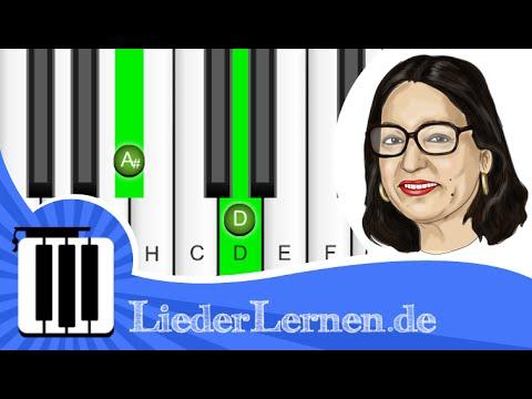 Nana Mouskouri Guten Morgen Sonnenschein Klavier Lernen Musiknoten Akkorde