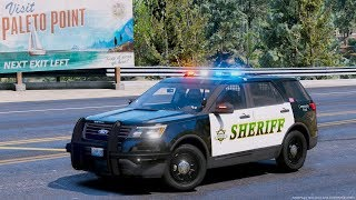 GTA 5 LSPDFR #640 - Blaine County Sheriff 2017 Ford Police Interceptor Utility