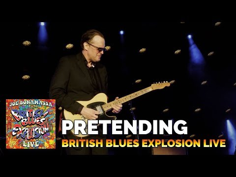Joe Bonamassa Pretending British Blues Explosion Live