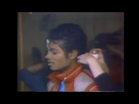 Michael Jackson - Beat It behind The Scenes