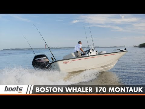Boston Whaler 170 Montauk: Video Boat Review