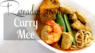 Ramadan Recipe | Iftar | Curry Mee