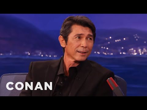 Lou Diamond Phillips' Dead-On Antonio Banderas Impression  - CONAN on TBS