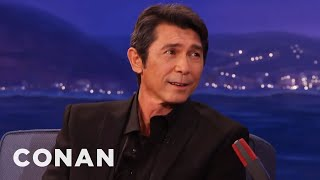 Lou Diamond Phillips' Dead-On Antonio Banderas Impression  - CONAN on TBS thumbnail