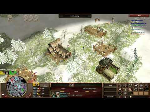 [AOE3] 2v2 Teamgame - Veni / Hazza vs Erik / Prince
