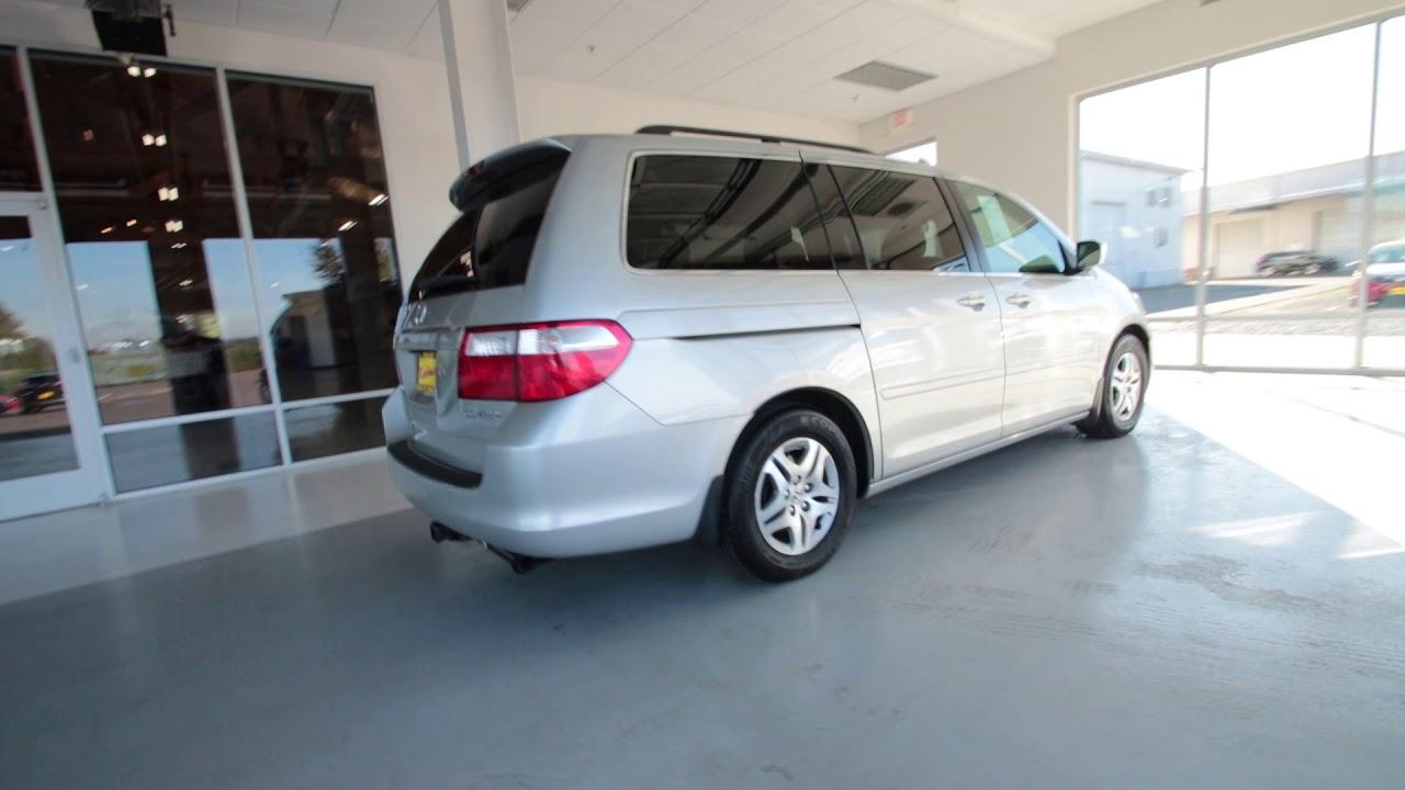 2005 Honda Odyssey EX L | Silver Pearl Metallic | 5B122507 | Seattle |  Sumner |