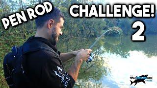 fishing rod pen challenge episode 2   tafishing