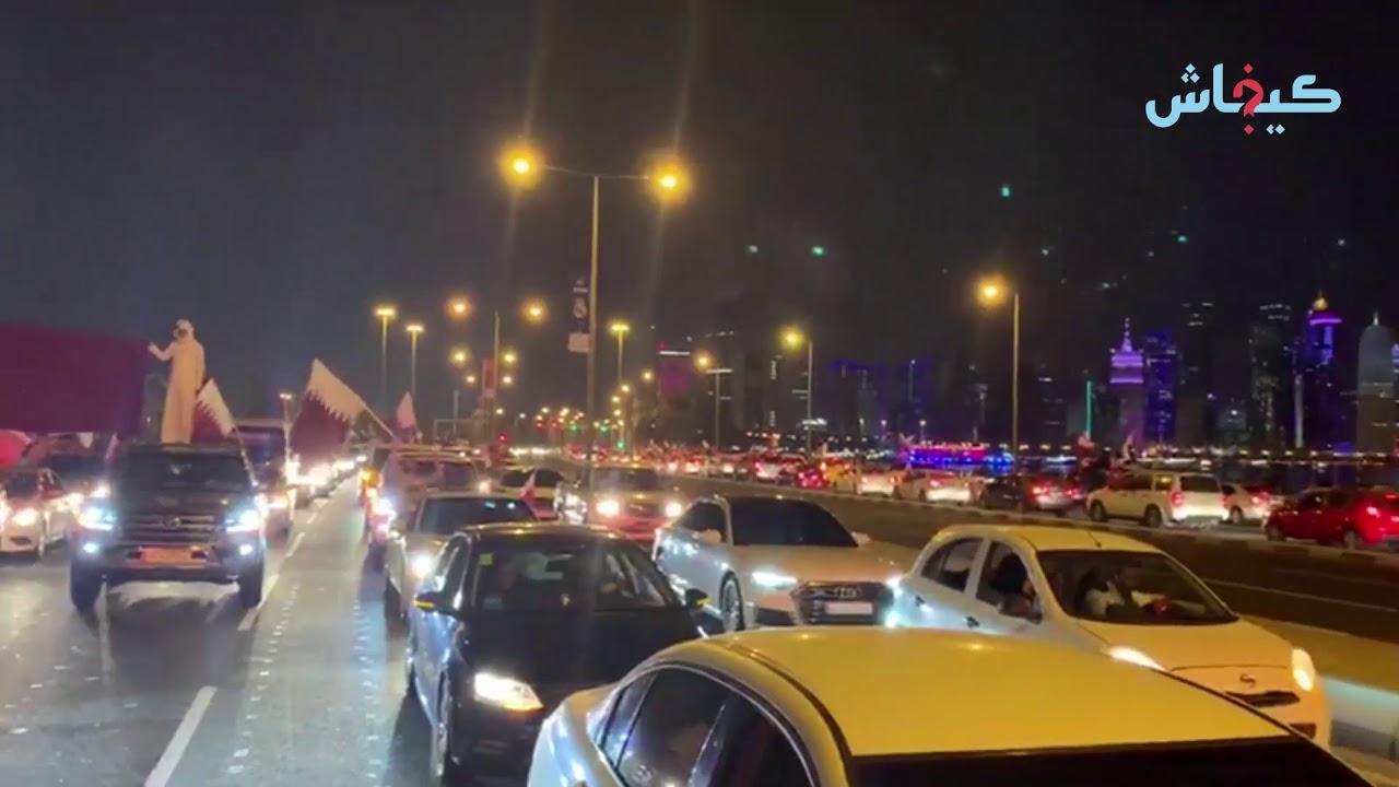 بعد الفوز بكأس آسيا.. القطريين ما قدّاتهم فرحة
