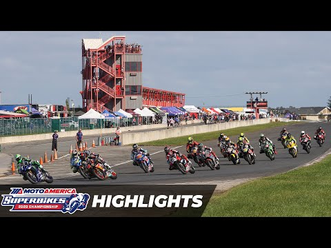 HONOS Superbike Race 1 Highlights at New Jersey 2020
