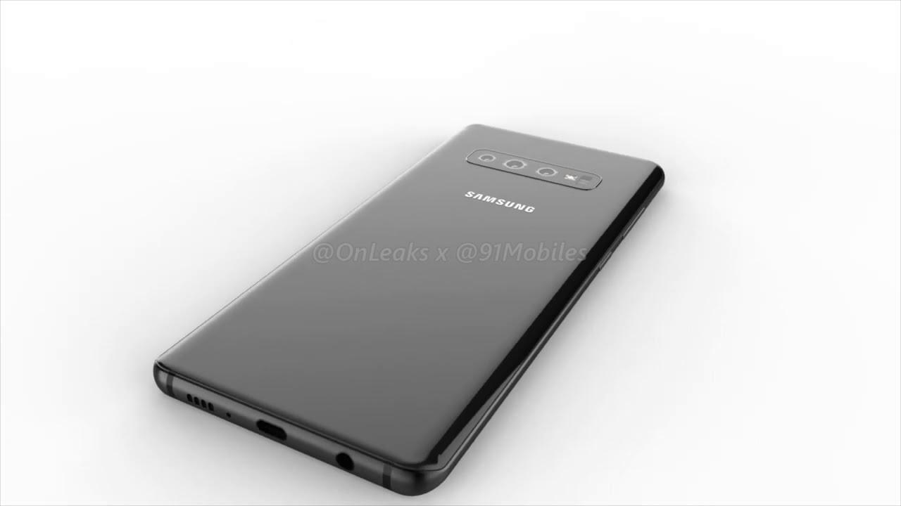 Samsung Galaxy S10 Plus: 360 renders [EXCLUSIVE]