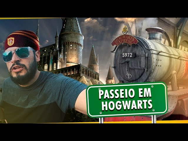 PASSEIO EM HOGWARTS | Matheus Ceará Viaja