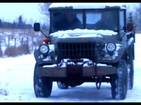 Cold Start the 1952 Dodge M-37 Power Wagon!