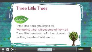 the tale of 3 trees easter musical song compilation with words on screen from out of the ark