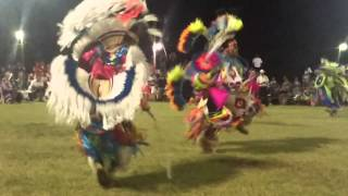 Mens fancy ponca powwow 2014