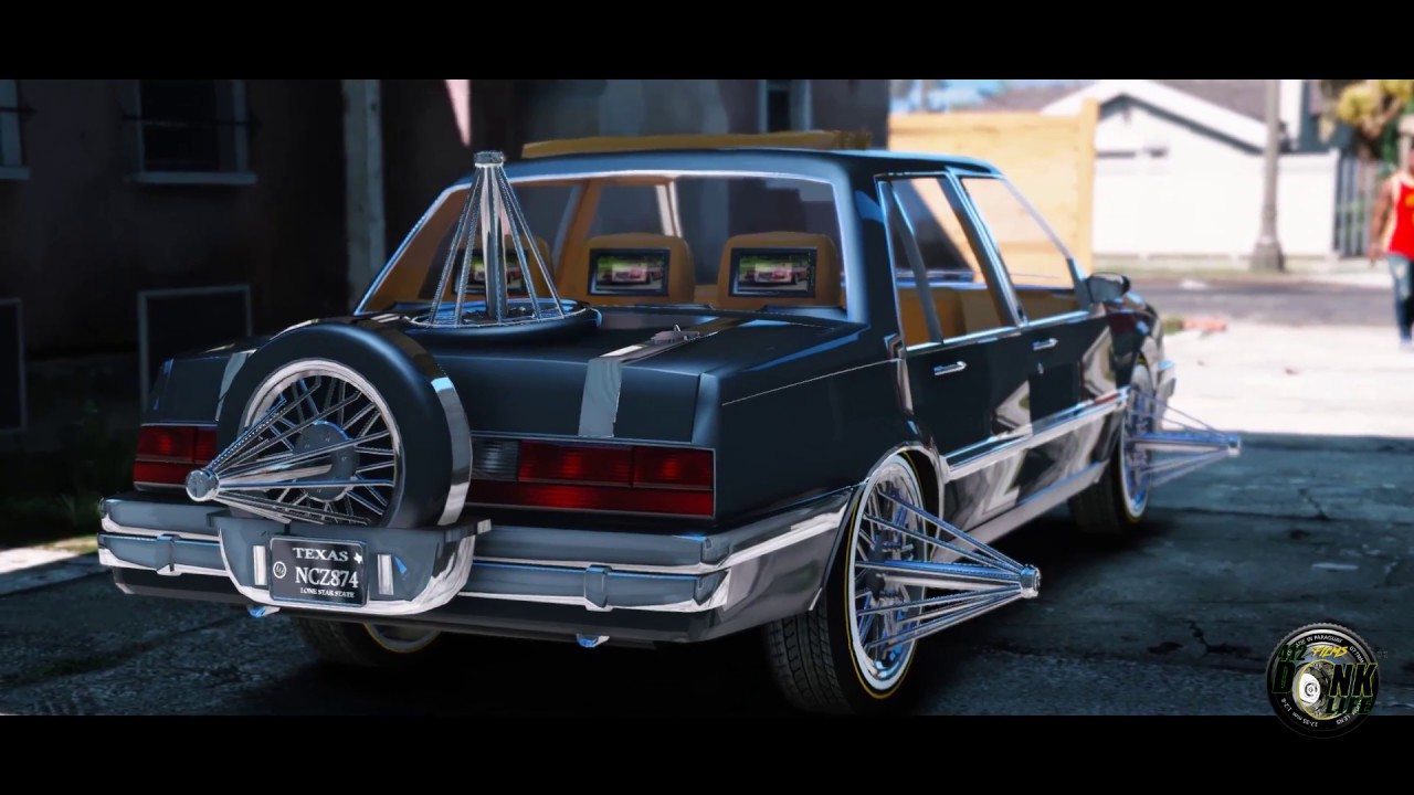 grand theft auto v donks and exclusive whips houston slab rideout