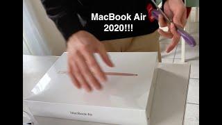 Unboxing MacBook Air 2020!