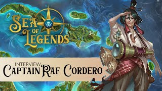 Sea of Legends: An Interview with Raf Cordero