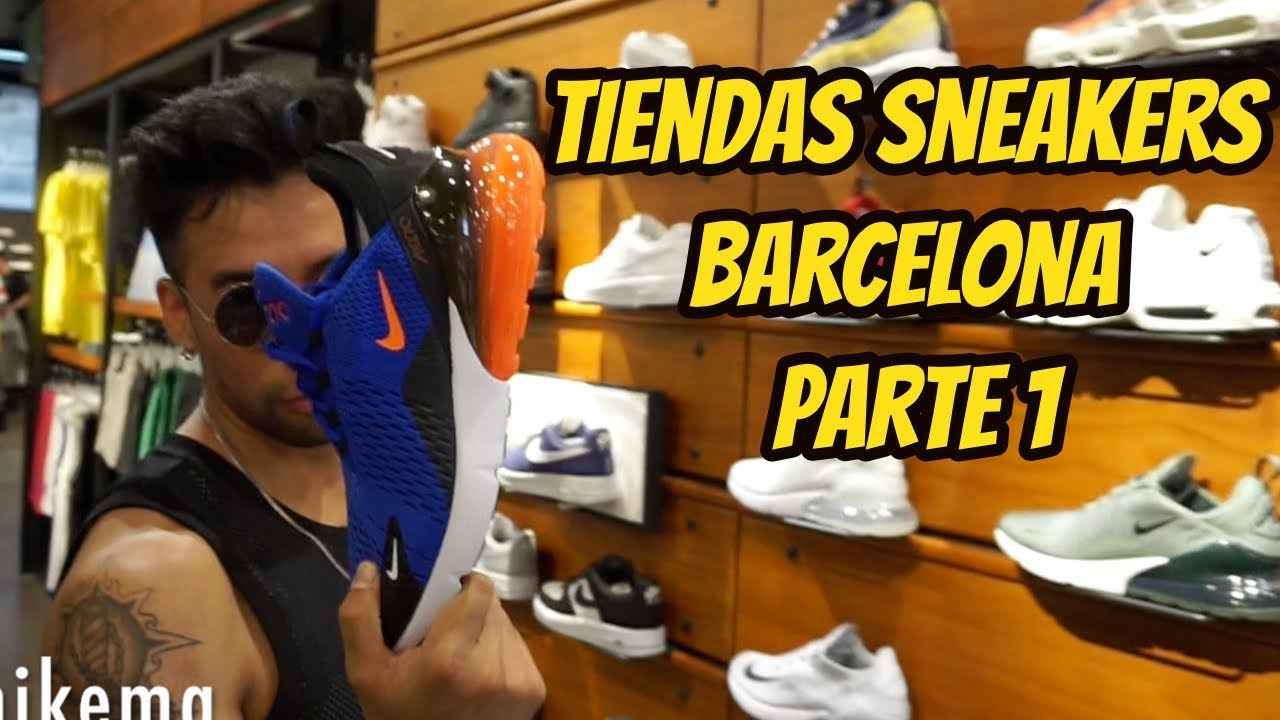 kupongskod se upp för rabattkod TIENDAS DE SNEAKERS BARCELONA PARTE 1