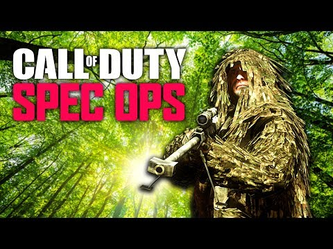 All Ghillied Up - Call Of Duty: Spec Ops
