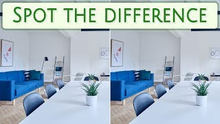 [ Brain games ] Ep.025 Interior_01.living room | Spot the difference | photo puzzles | Healing