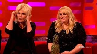 Joanna Lumley Explains Her Modeling Pics - The Graham Norton Show
